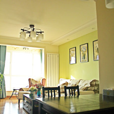 东南亚一居客厅设计效果图