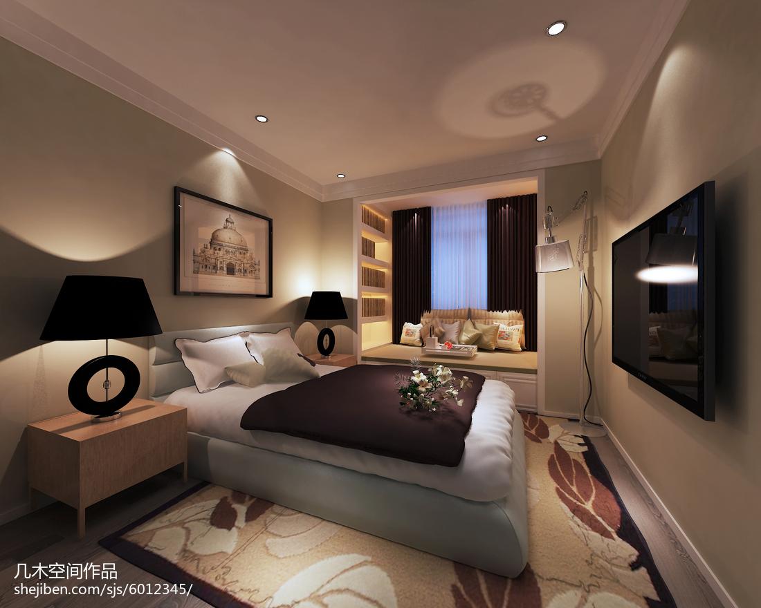 55平米简约风格一居室内装饰图片