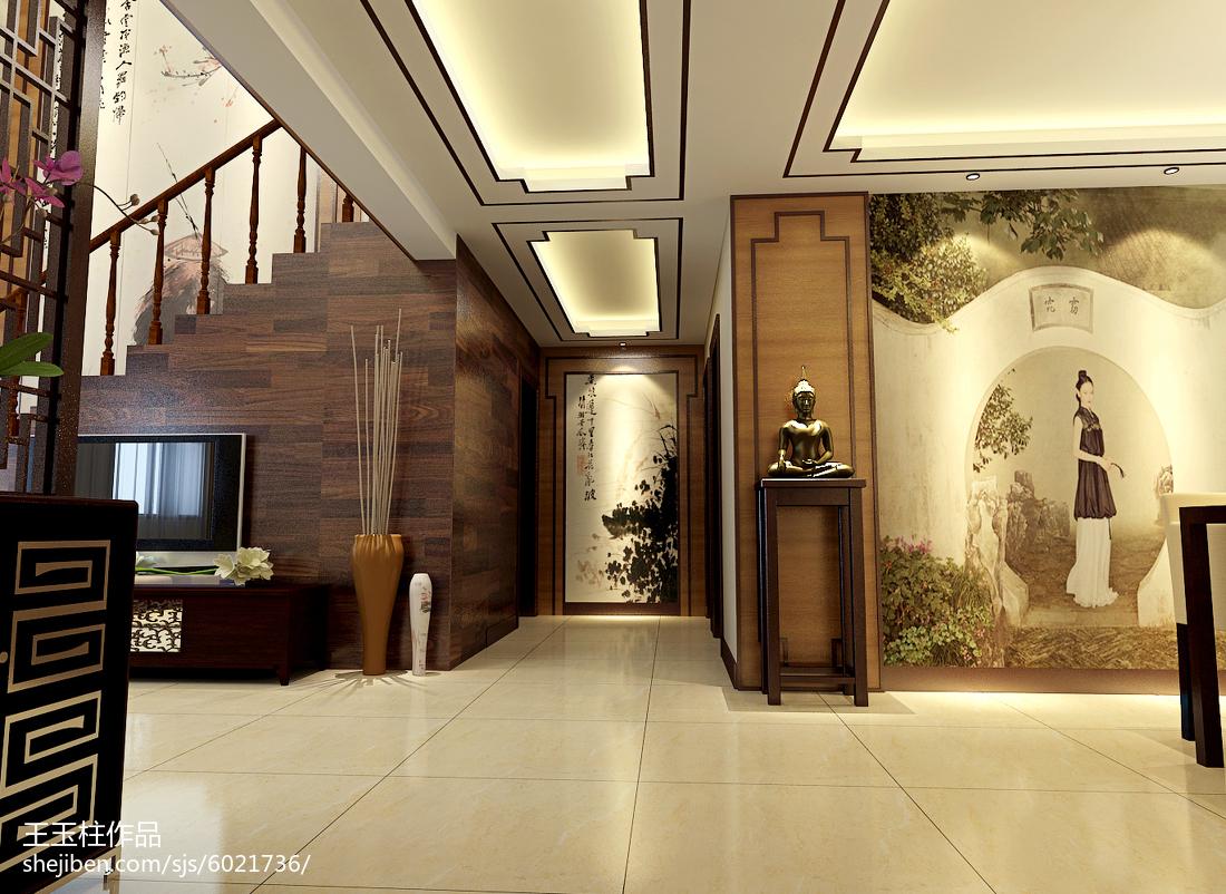 朴雅时尚简约客厅装修设计
