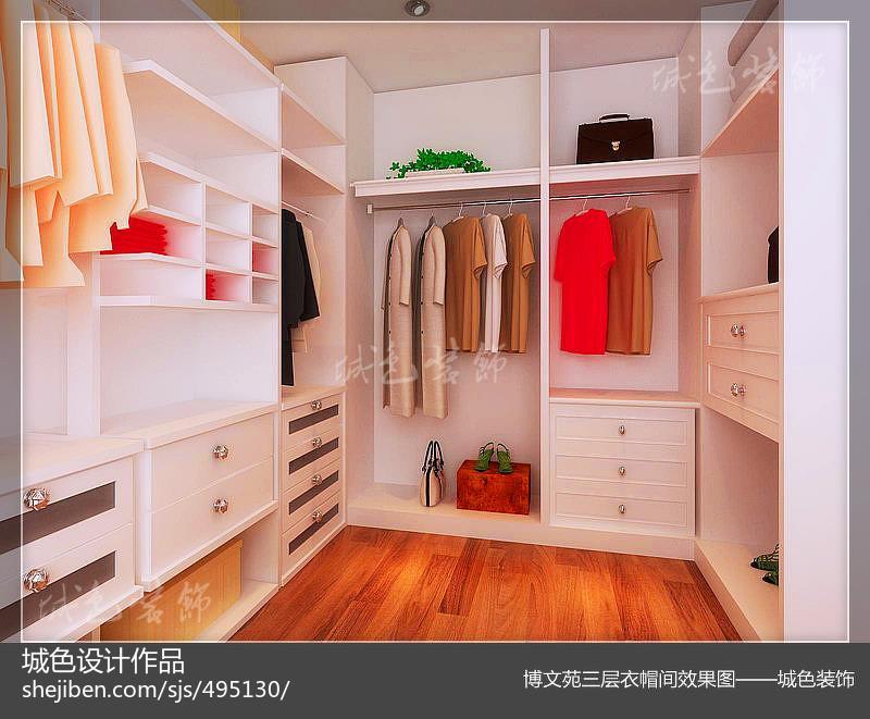 热门简约三居装修设计效果图片欣赏