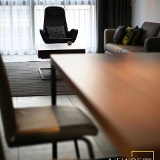 热门107平方三居客厅现代实景图片大全