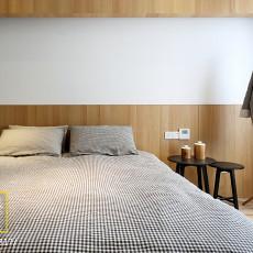 2018大小90平现代三居卧室实景图片