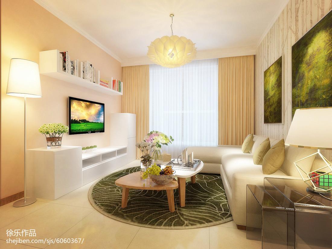 现代化舒适一居室装修效果图