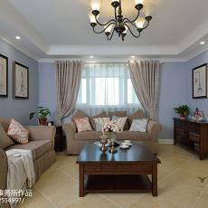 美式风格三居客厅装修图片