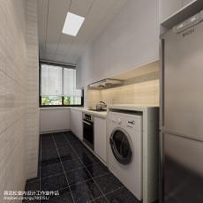 大小109平现代三居厨房装饰图片
