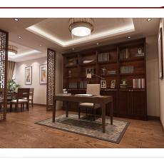儒雅古典中式书房设计