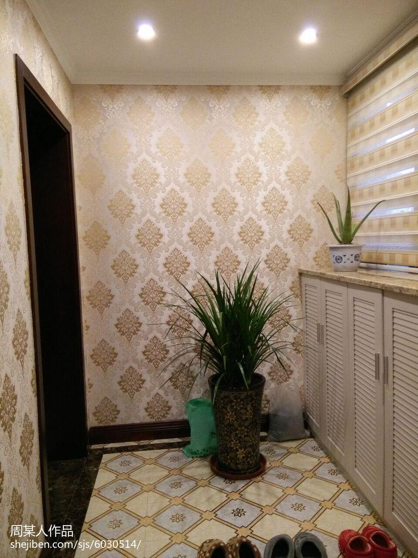 美式清新舒适系列卫生间装修效果图