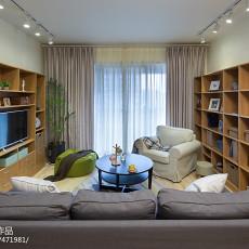精美四居客厅现代装修实景图片欣赏