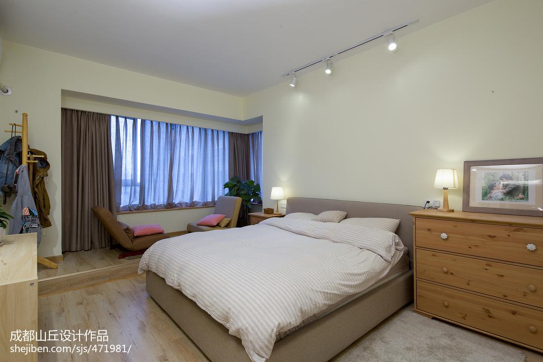 精美122平米四居卧室现代装修效果图片大全