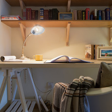 热门现代四居书房装修欣赏图片大全