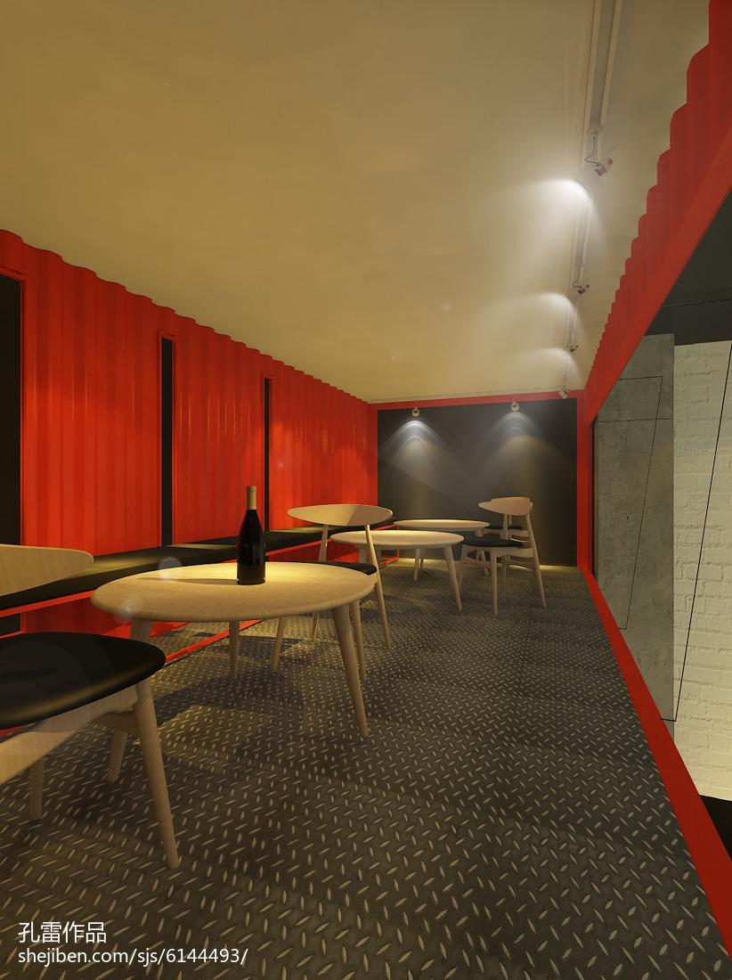 宜家风格室内相片墙装饰设计效果图