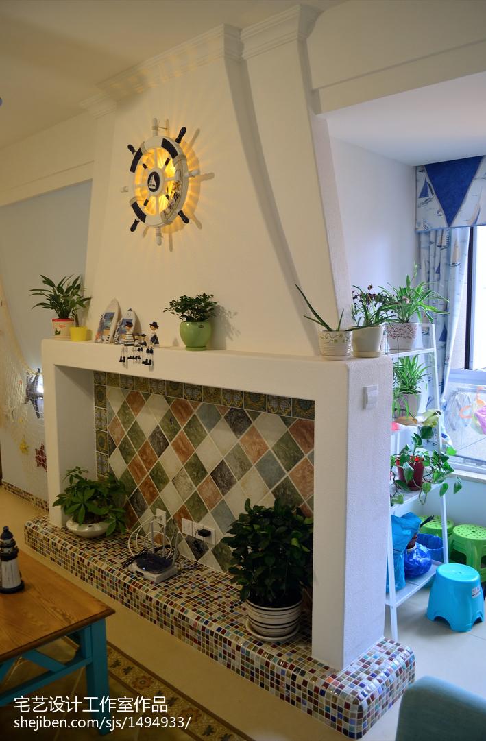 精选面积72平地中海二居客厅装修欣赏图片大全