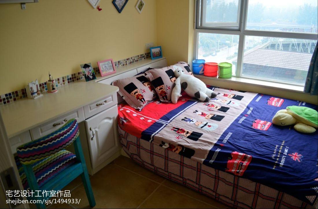 精选地中海二居儿童房装修效果图