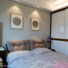 简洁128平现代四居卧室装饰美图