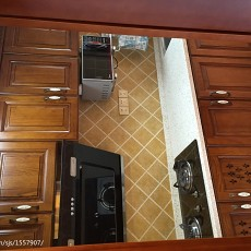 欧式三居厨房装修图片