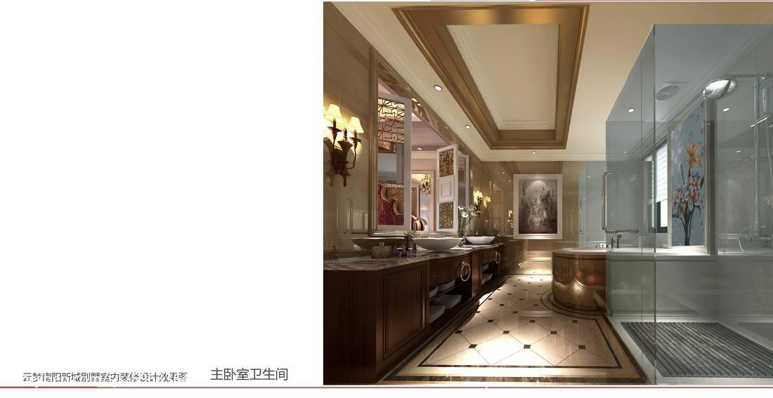 欧式卫浴装修效果图设计