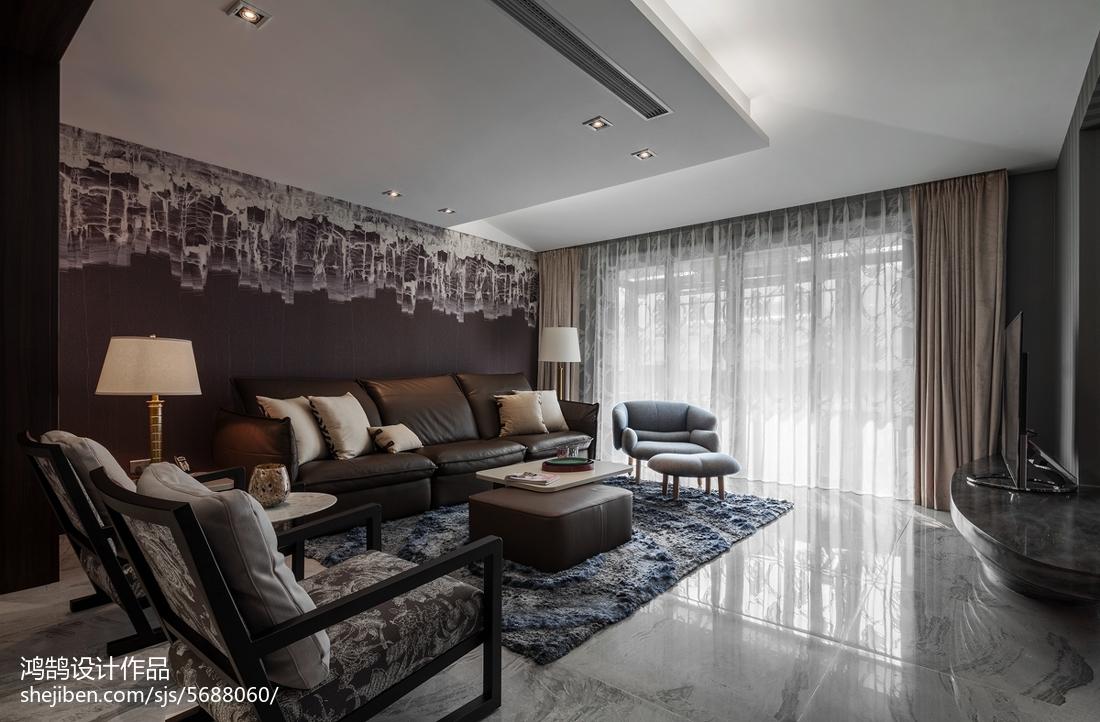 精美96平米三居客厅现代欣赏图