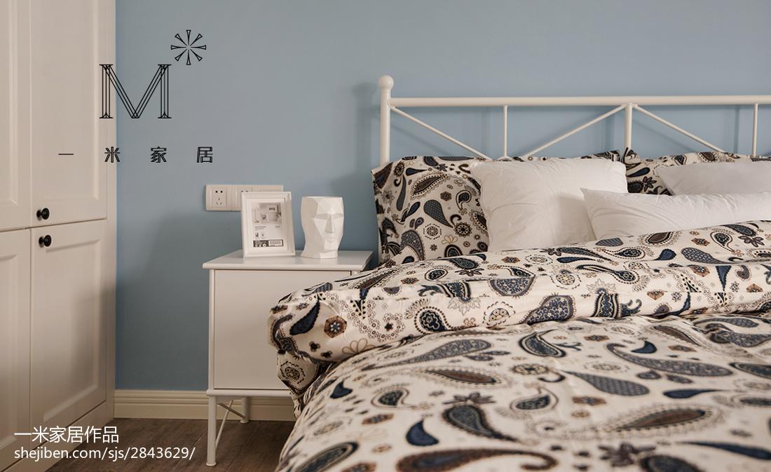 热门面积79平北欧二居卧室效果图片大全