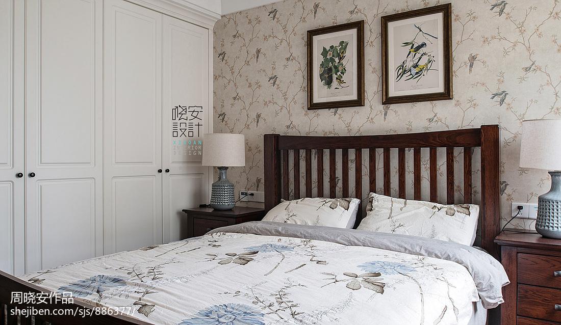 温馨72平美式三居装修图