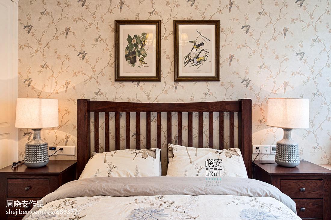 简洁79平美式三居装饰图片