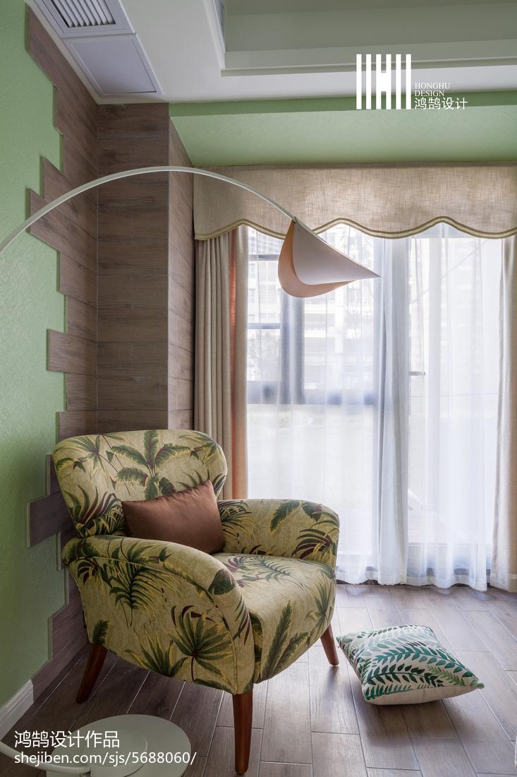 典雅118平简约三居客厅装修美图