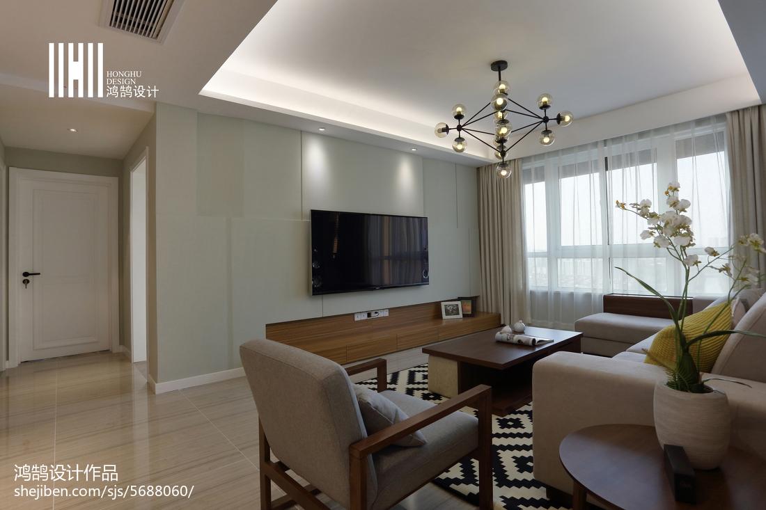 201892平米三居客厅简约装修欣赏图片