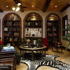 2018精选118平方美式别墅客厅设计效果图