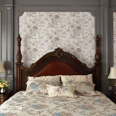 精选面积131平别墅卧室美式效果图
