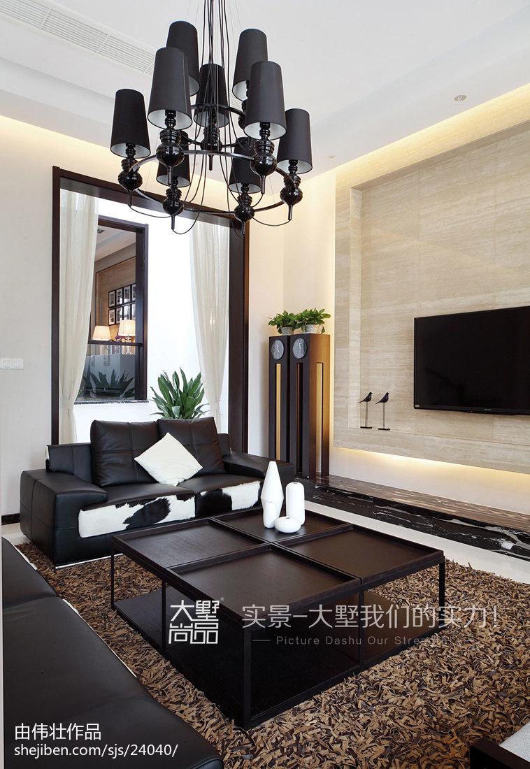 精选现代别墅客厅欣赏图