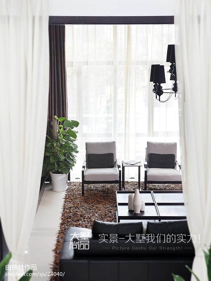 精选135平米现代别墅客厅装修图片大全