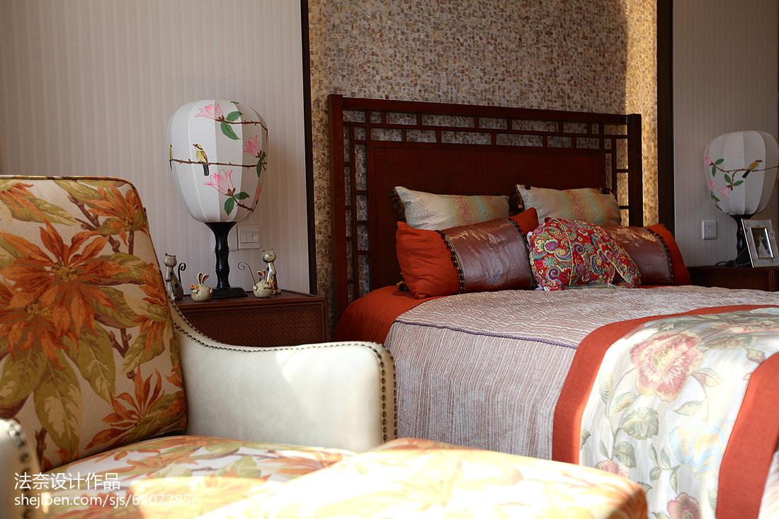 东南亚复式设计卧室效果图