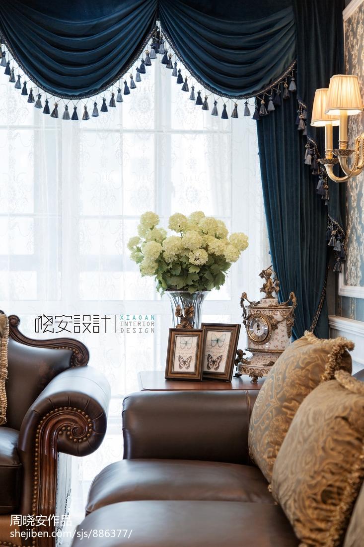 精美350平美式复式客厅图片欣赏