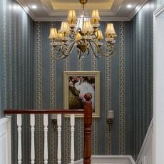 轻奢68平美式复式卧室设计图