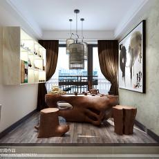 面积100平现代三居休闲区装修图片