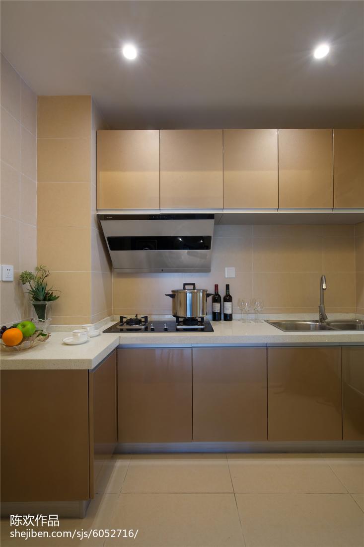 精选现代厨房实景图片大全