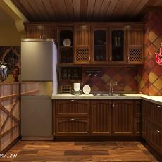2018精选111平米东南亚复式厨房设计效果图
