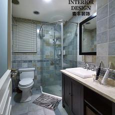 精美美式二居卫生间装修欣赏图片