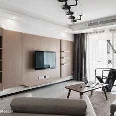 精选大小107平现代三居客厅装修实景图片