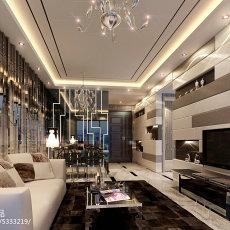 精选92平客厅三居现代实景图片欣赏