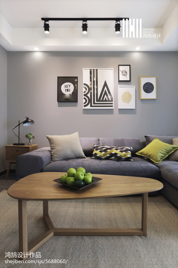 2018二居客厅北欧装修欣赏图片