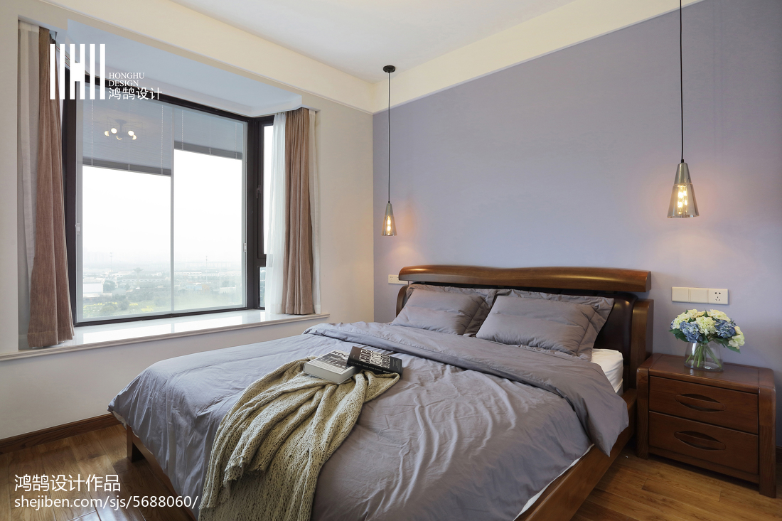 精选二居卧室北欧装修设计效果图片欣赏
