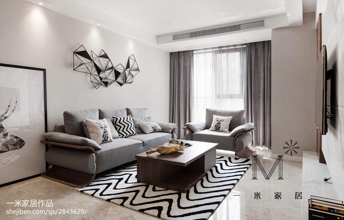 现代简约客厅设计装修图册