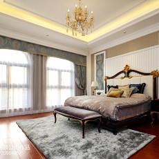 面积121平别墅卧室欧式装饰图