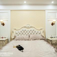 精美121平米美式别墅卧室装修图片欣赏