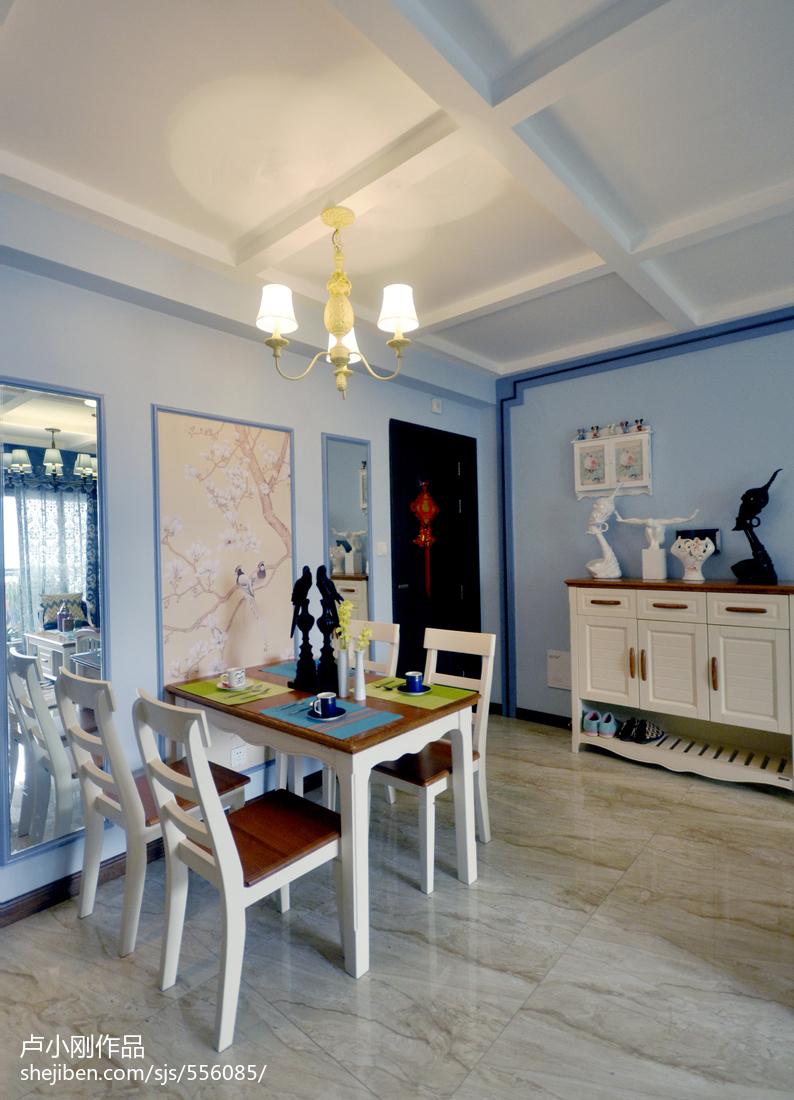 热门85平米二居餐厅现代欣赏图