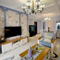 热门76平米二居客厅现代欣赏图
