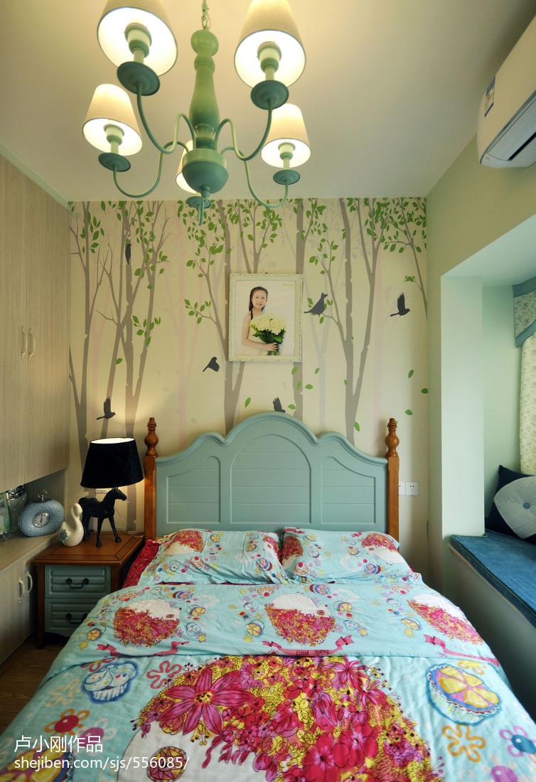 面积90平现代二居儿童房效果图片大全