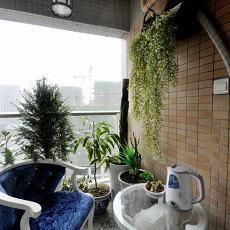 热门现代二居阳台装修设计效果图片欣赏