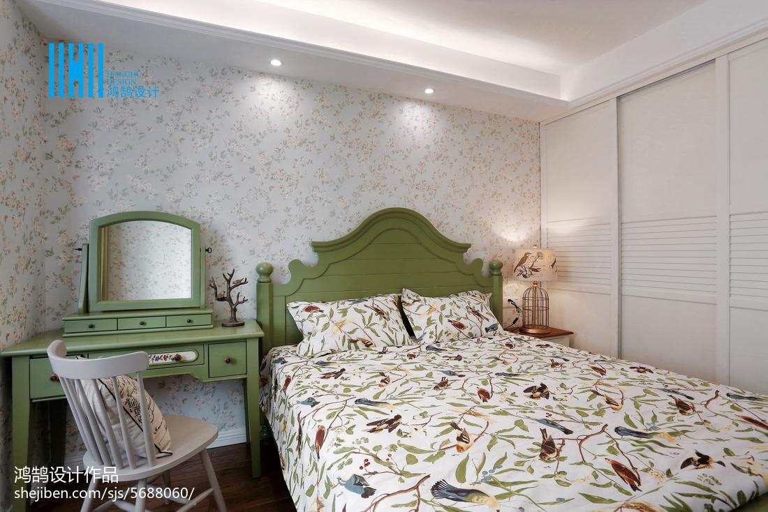 热门二居卧室美式装饰图片欣赏