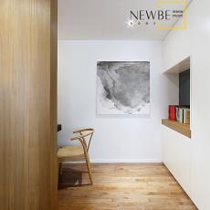 201872平米二居书房简约装修实景图